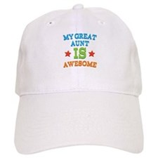 My Great Aunt Is Awesome Baseball Cap