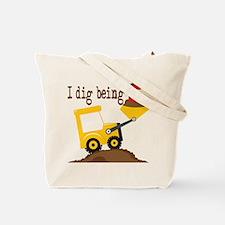 I Dig Being 5 Tote Bag