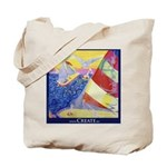 Sailing Grocery Tote Bag