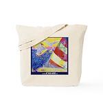 Sailing Grocery Tote Bag