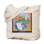Swan and Venice Grocery Tote Bag
