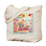 Farmer's Market Themed Ojai Grocery Tote Bag