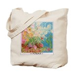 Garden Themed Ojai Grocery Tote Bag