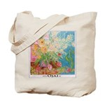 Garden Themed Ojai Grocery Tote Bag