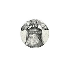 Liberty Bell Mini Button