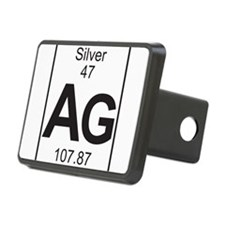 Element 47 - Ag (silver) - Full Hitch Cover