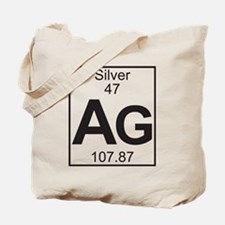Element 47 - Ag (silver) - Full Tote Bag