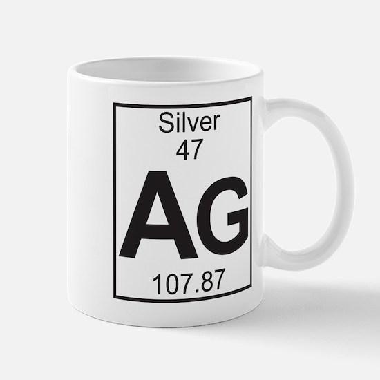 Element 47 - Ag (silver) - Full Mug