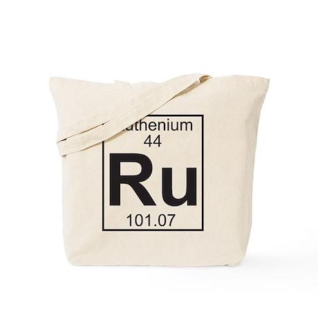 Element 44 - Ru (ruthenium) - Full Tote Bag