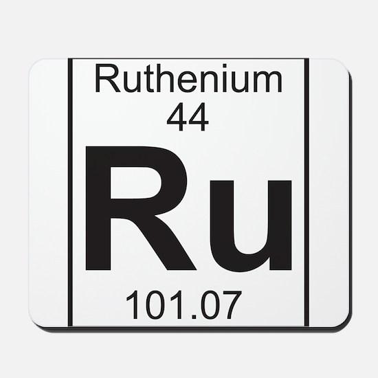 Element 44 - Ru (ruthenium) - Full Mousepad