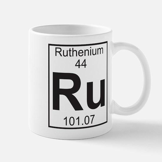 Element 44 - Ru (ruthenium) - Full Mug