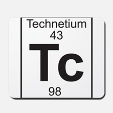 Element 43 - Tc (technetium) - Full Mousepad