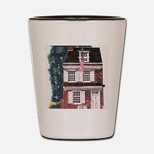 Betsy Ross House Shot Glass
