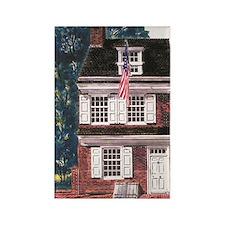 Betsy Ross House Rectangle Magnet