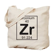 Element 40 - Zr (zirconium) - Full Tote Bag