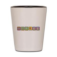 Aubree Foam Squares Shot Glass