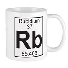 Element 37 - Rb (rubidium) - Full Mug