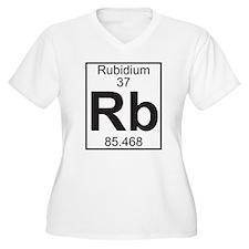 Element 37 - Rb (rubidium) - Full Plus Size T-Shir