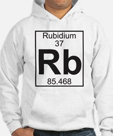 Element 37 - Rb (rubidium) - Full Hoodie