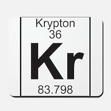 Element 36 - Kr (krypton) - Full Mousepad