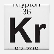 Element 36 - Kr (krypton) - Full Tile Coaster