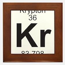 Element 36 - Kr (krypton) - Full Framed Tile