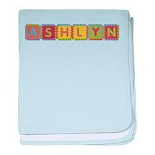 Ashlyn Foam Squares baby blanket