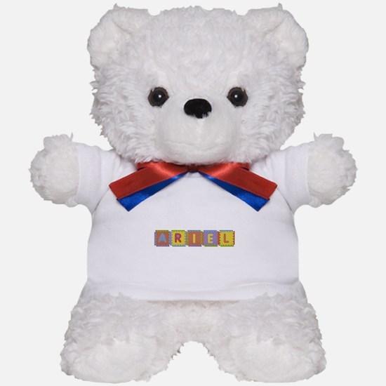 Ariel Foam Squares Teddy Bear