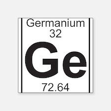 Element 32 - Ga (Germanium) - Full Sticker
