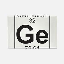 Element 32 - Ga (Germanium) - Full Rectangle Magne