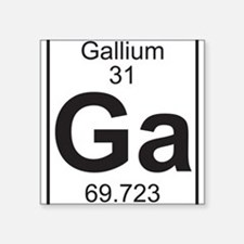 Element 31 - Ga (gallium) - Full Sticker