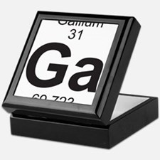 Element 31 - Ga (gallium) - Full Keepsake Box