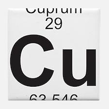 Element 29 - Cu (cuprum) - Full Tile Coaster