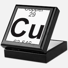 Element 29 - Cu (copper) - Full Keepsake Box