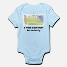 I Wear this Shirt Periodically Body Suit