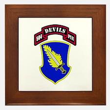 504th PIR Framed Tile