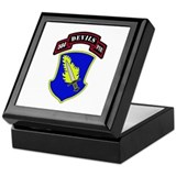 504th pir Square Keepsake Boxes