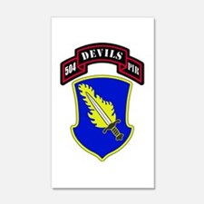 504th PIR Wall Decal
