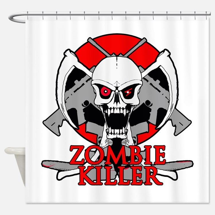 Call Of Duty Zombie Shower Curtains