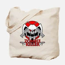 Zombie killer red Tote Bag