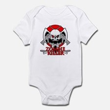 Zombie killer red Infant Bodysuit