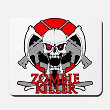 Zombie killer red Mousepad