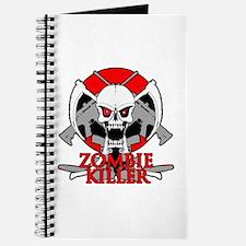 Zombie killer red Journal