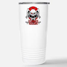Zombie killer red Stainless Steel Travel Mug