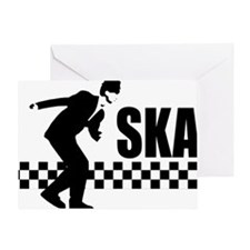 SKA On Greeting Card