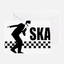SKA On Greeting Card