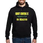 Ghost Hunting Season Hoodie (dark)