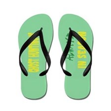 Ghost Hunting Season Flip Flops