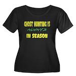 Ghost Hunting Season Women's Plus Size Scoop Neck