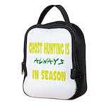 Ghost Hunting Season Neoprene Lunch Bag